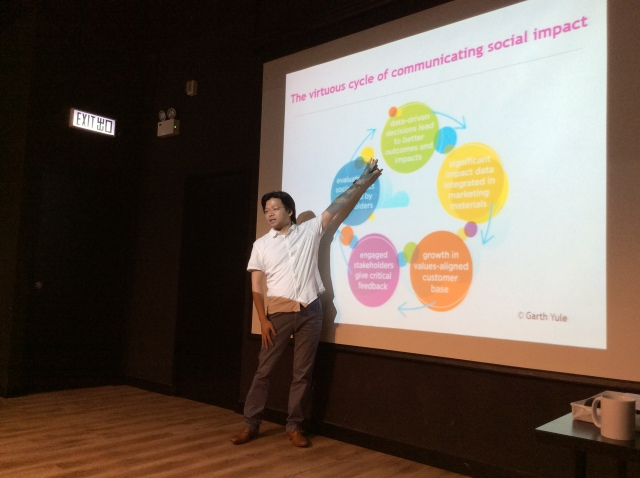 Terence Yuen at the workshop